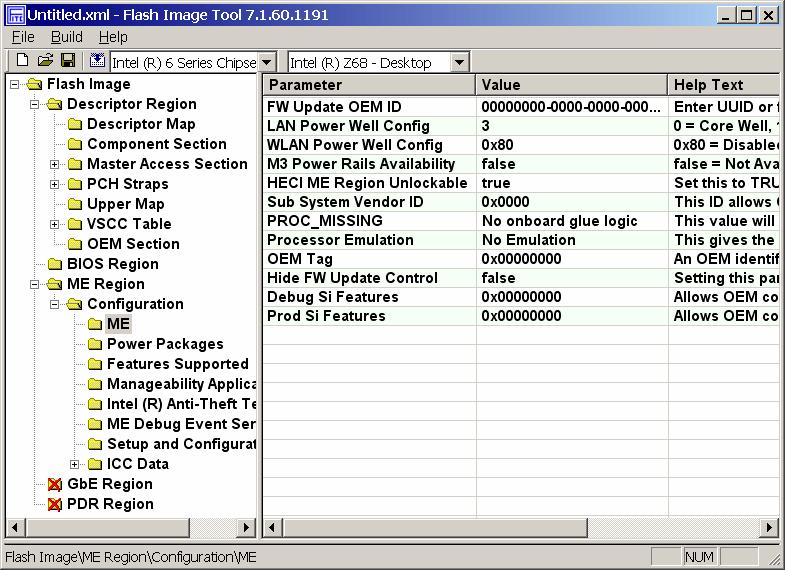 Intel ME Firmware 8 1 65 1586